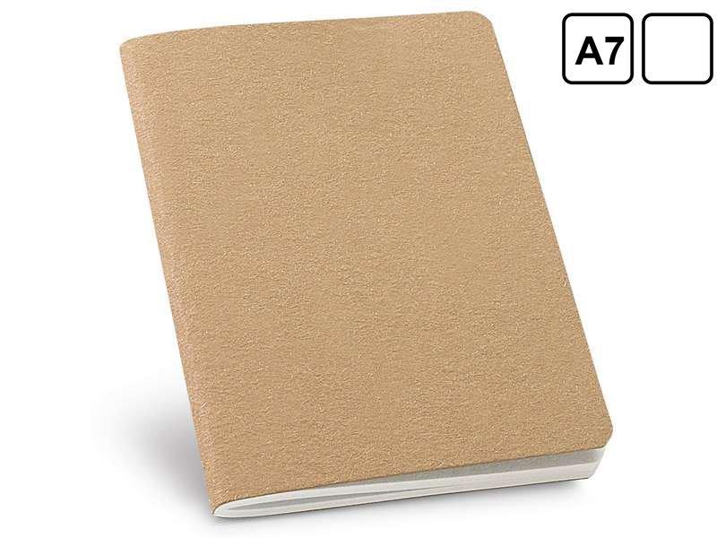 Mini notitieboekje van gerecycleerd papier