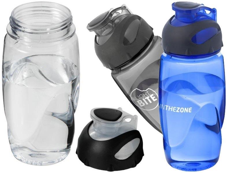 Sportfles 500 ml transparant gobi