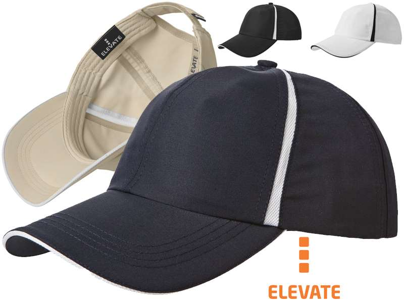 6 panel cap 100 % polyester