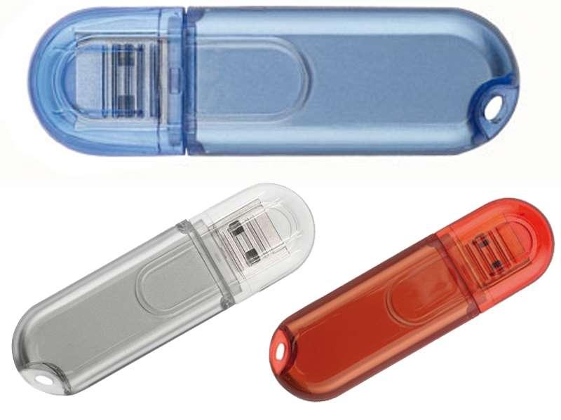 Usb-stick in gehard plastic behuizing 4gb