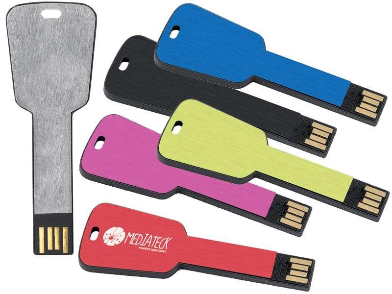 Memory-stick ivv rechthoekige sleutel. 4gb