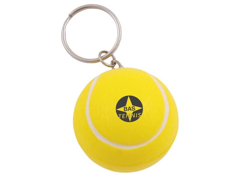 Anti-stress sleutelhanger tennisbal