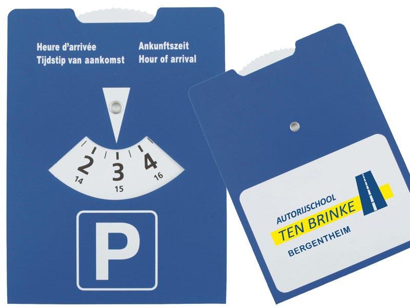 Parkeerschijf karton