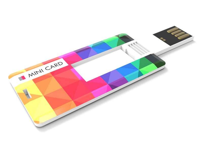 Usb-stick mini card 4 gb