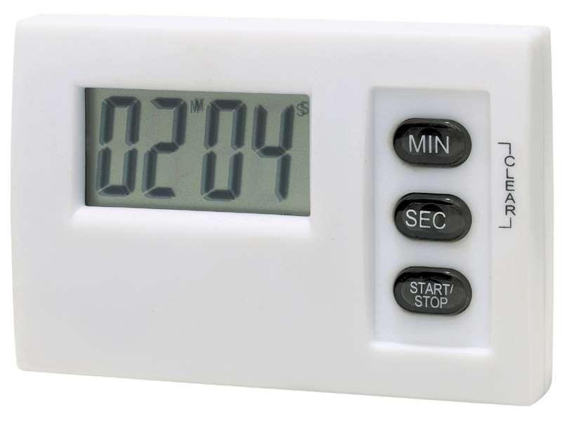 Lcd timer met magneet