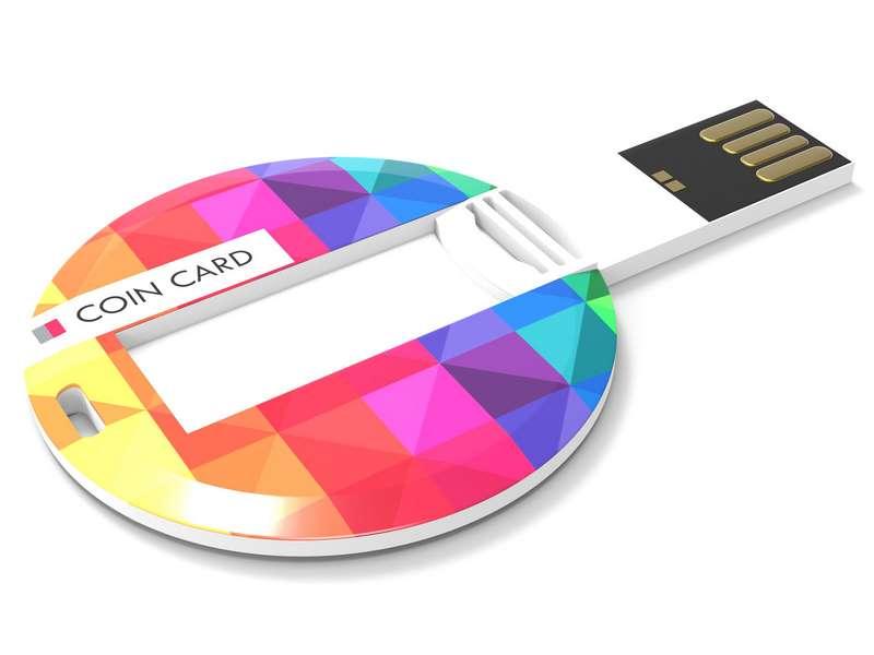 Usb-stick rond 4 gb