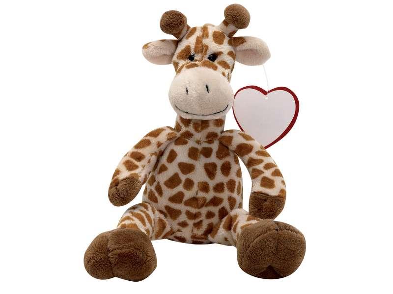 Pluche giraffe seeker