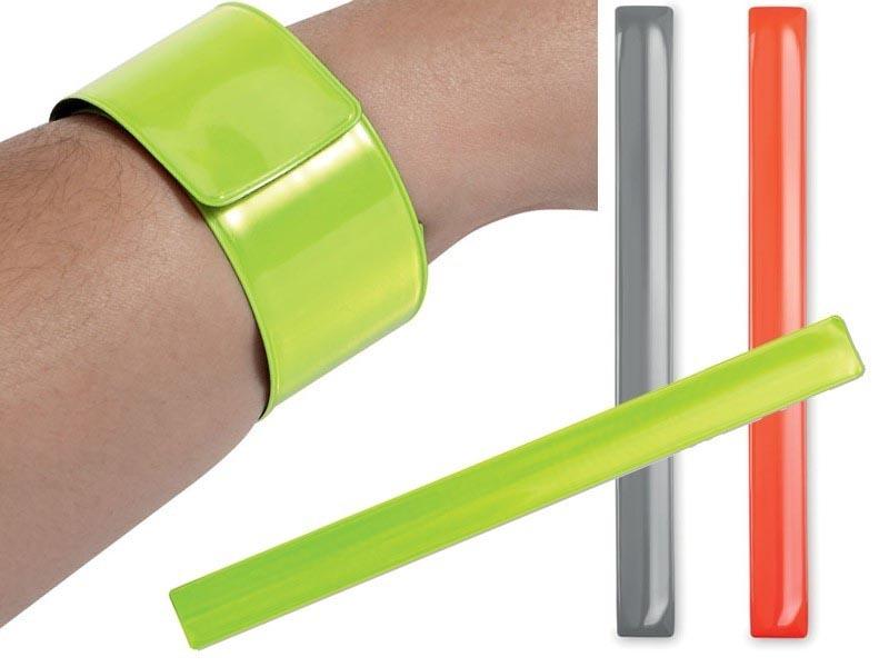 Neon reflecterende armband, inklapbaar