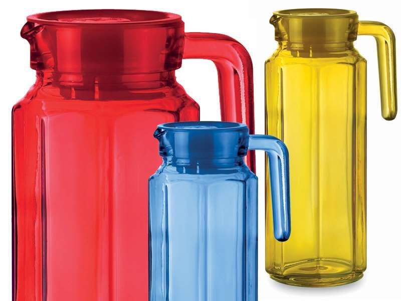 Glazen schenkkan 1 liter