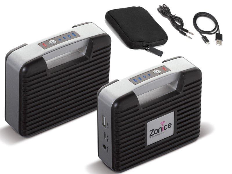 Draagbare powerbank 6000 mah en speaker