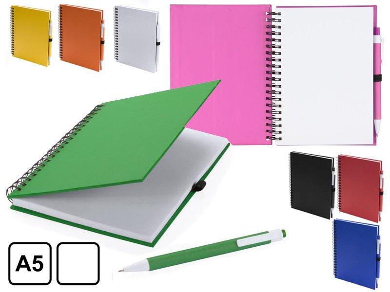 Spiraal notitieboek met 70 pagina's