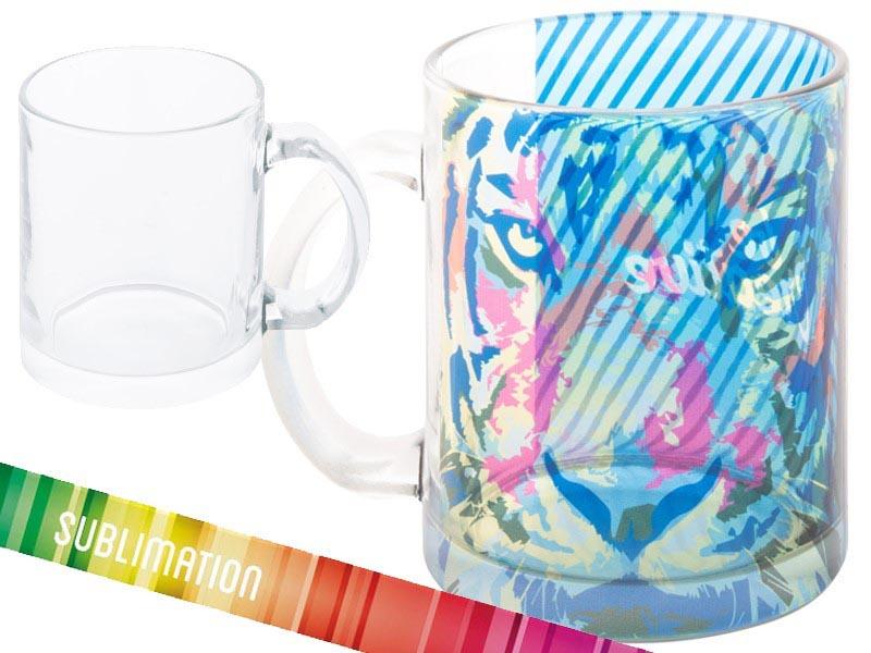 Vaatwasbestendige glazen mok 300 ml