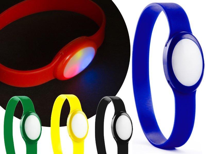 Siliconen sportarmband