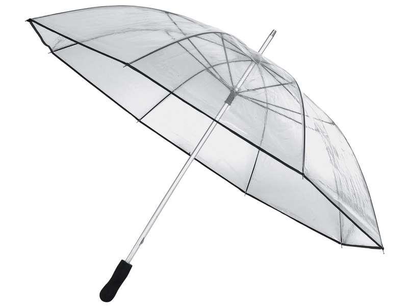 Automatische en transparante paraplu