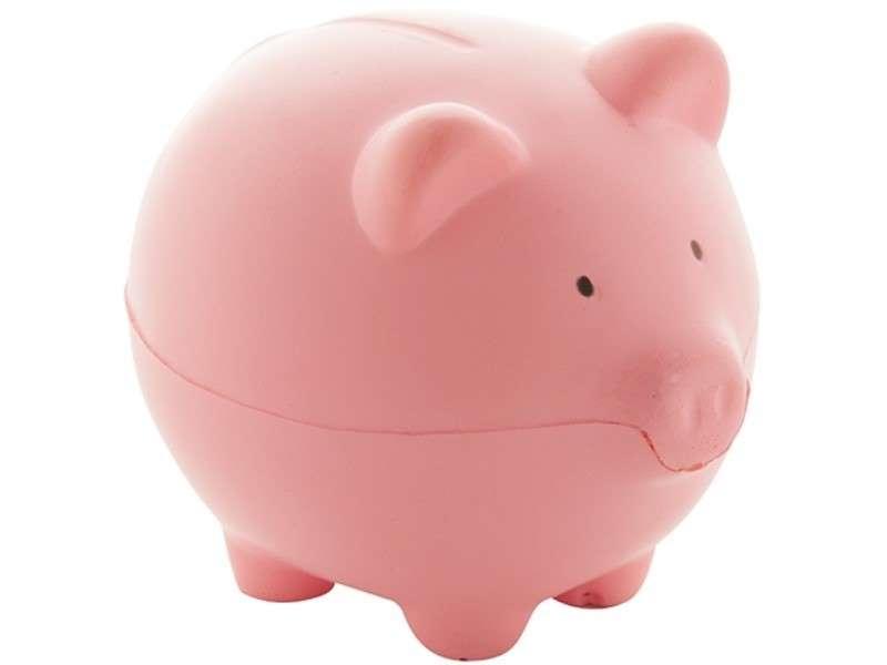 Anti-stress artikel in de vorm van een varken