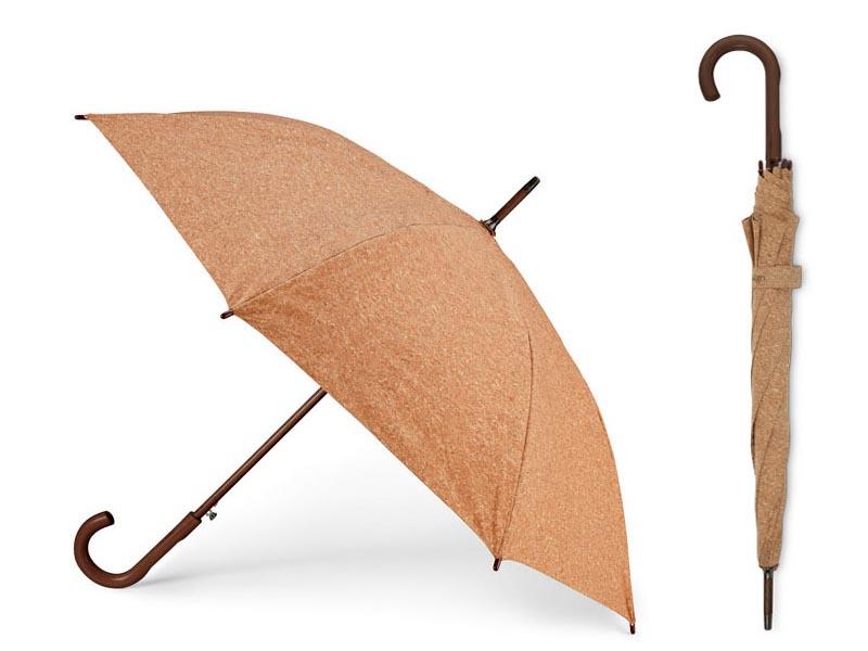 Automatische paraplu lanter met kurken bespanning