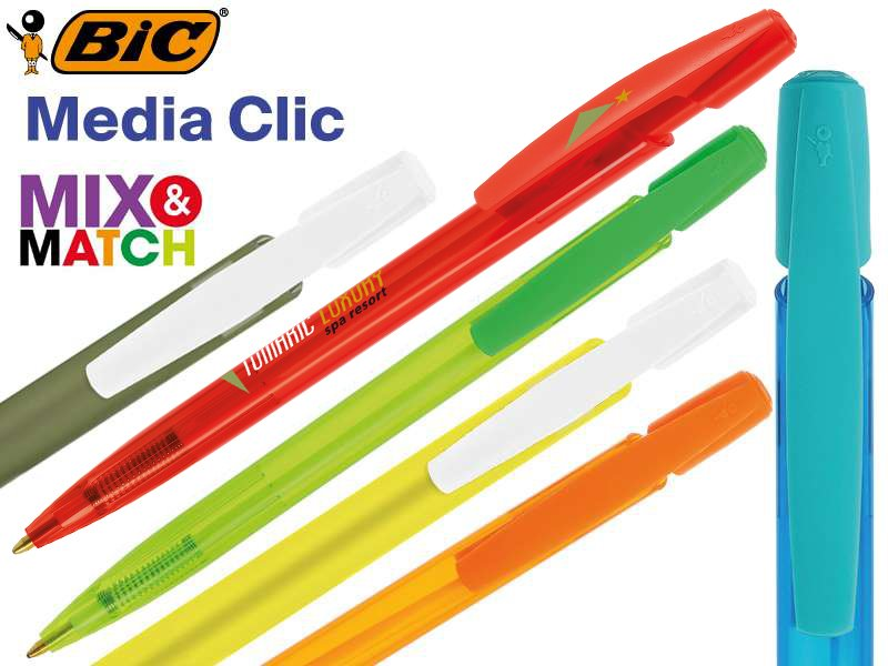 Bic© media clic balpen