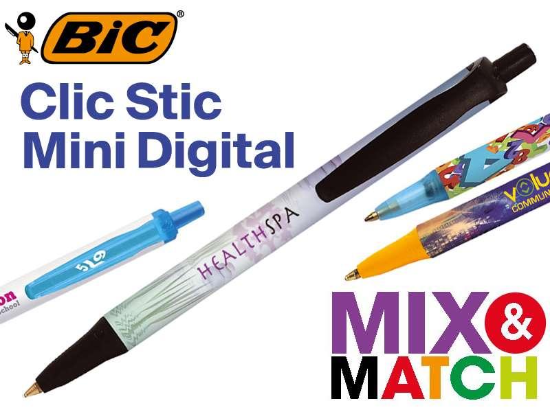 Bic© clic stic mini digital balpen