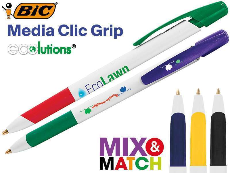 Bic© media clic grip eco balpen