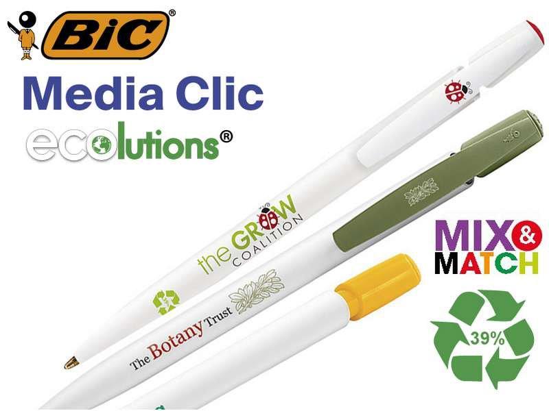 Bic© media clic eco balpen