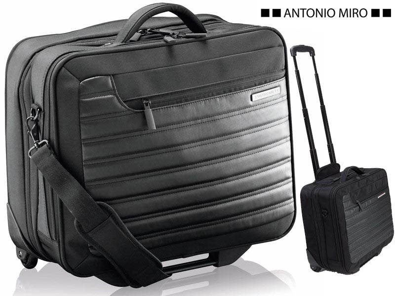 Trolley met laptop compartiment 16 inch lanto