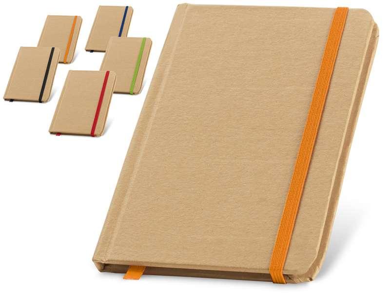 Notitieboekje recycled papier taryen