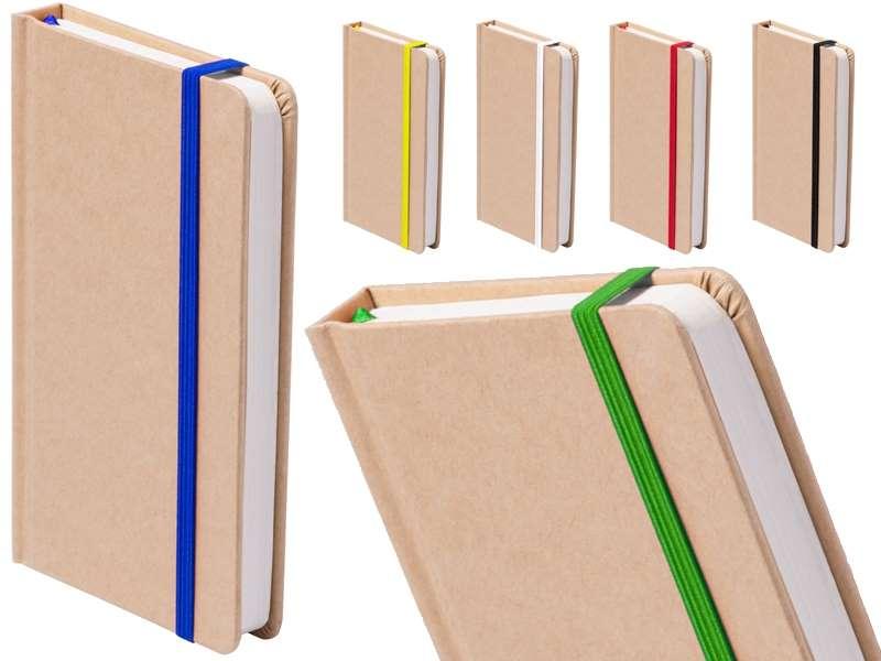 Kartonnen notitieboek met 100 vellen