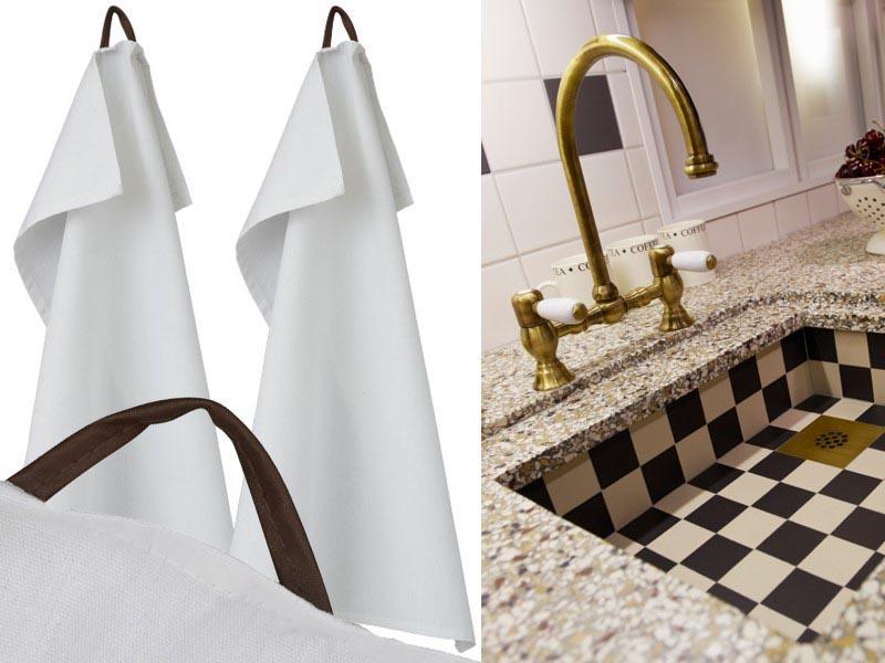2-delige keuken handdoeken set