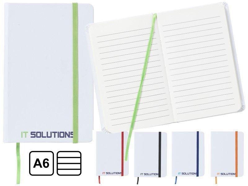 Praktisch en handzaam notitieboekje in a6-formaat