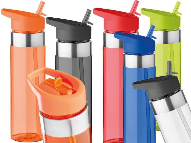 Drinkfles van tritan en inklapbaar mondstuk 650 ml