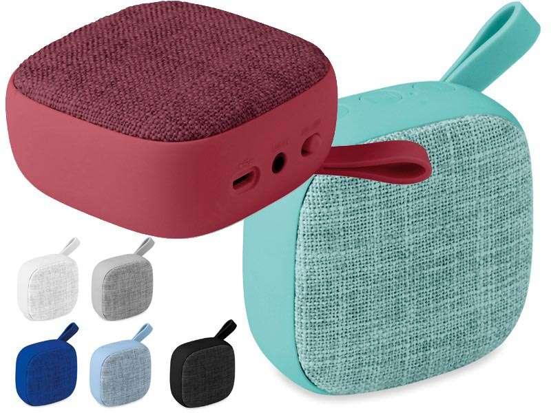 Bluetooth® luidspreker met stoffen kap