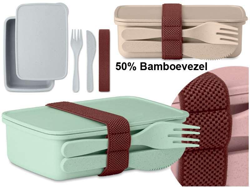 Brooddoos met 50 % bamboevezel astoriabox