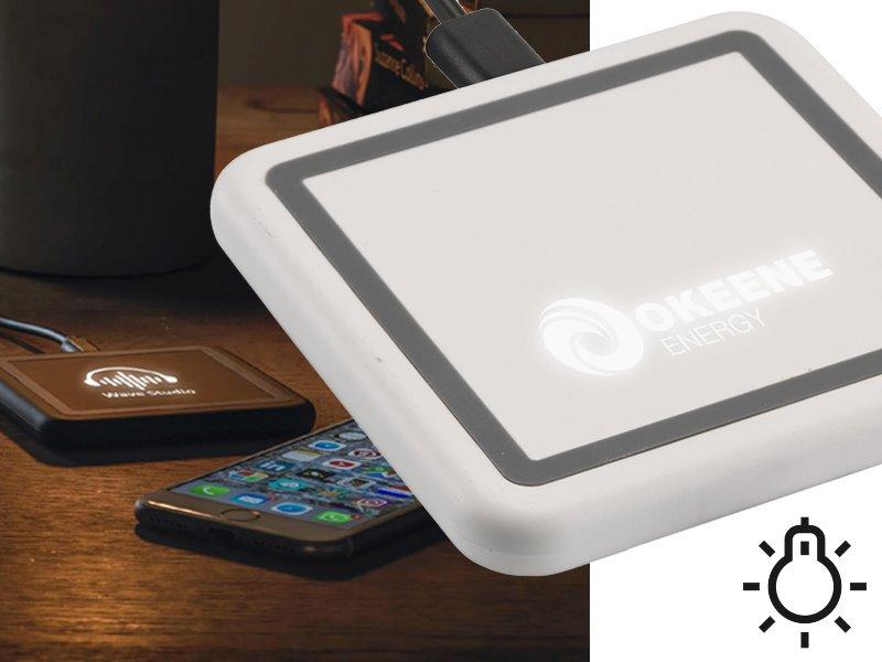 Logoboost draadloze light-up oplader