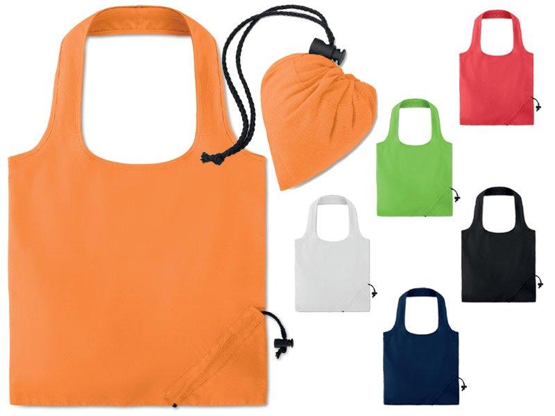 Opvouwbare katoenen tas gekleurd