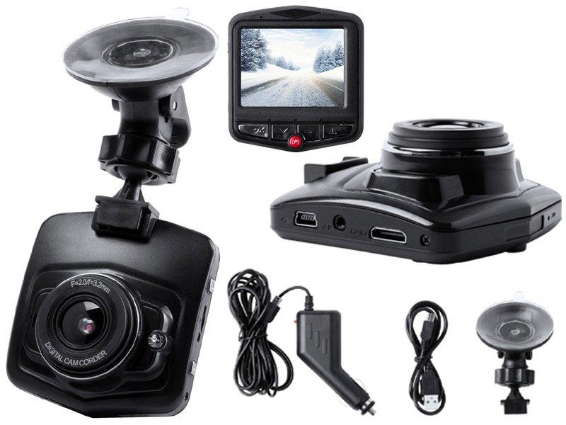 Auto dashcam, 2.4 inch lcd scherm