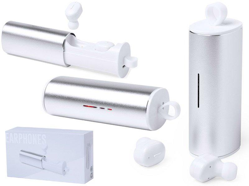 Aluminium bluetooth® oortjes, usb oplaadbaar