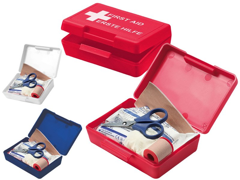 First aid kit box small ehbo box