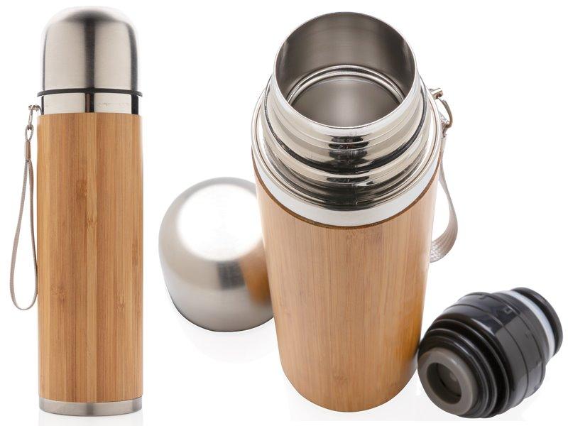 Bamboe vacuum reisfles