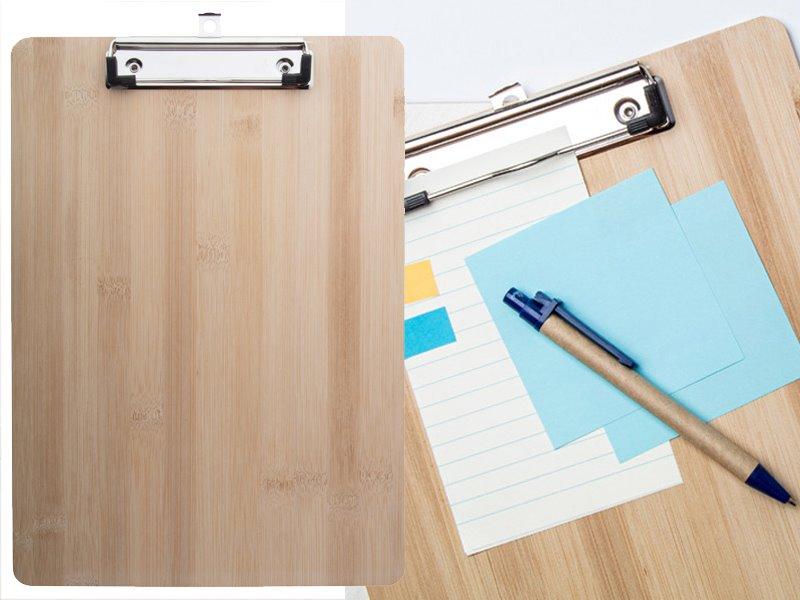 Bamboe clipboard a4