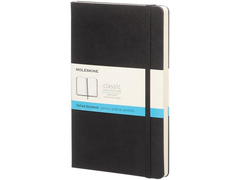 Moleskine classic l hardcover notitieboek stippen