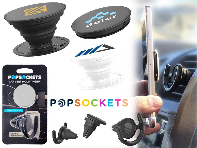 Popsockets® set telefoonhouder