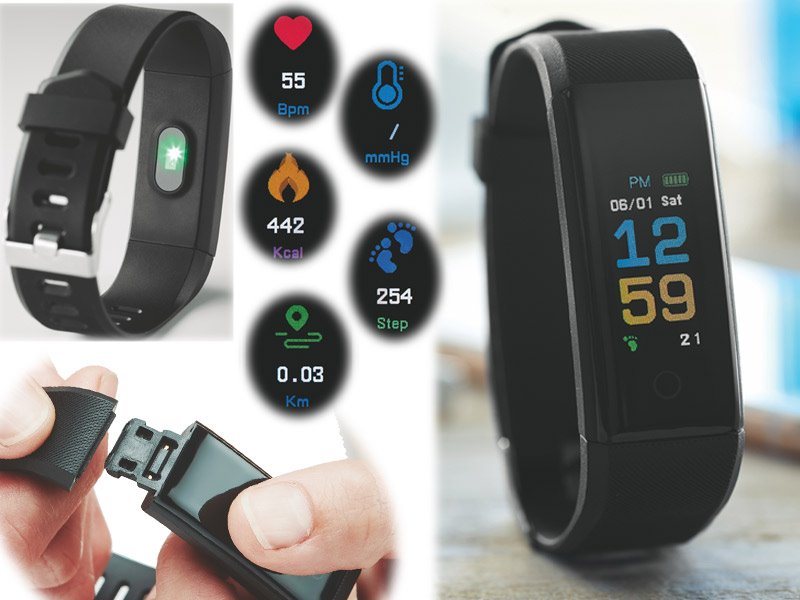 Activity tracker mueve