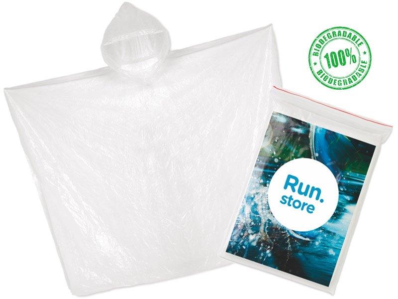 Biodegradable poncho sprinkle