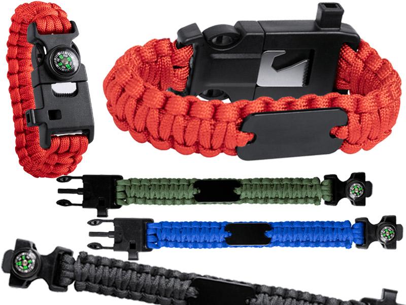 Survival armband kuprar