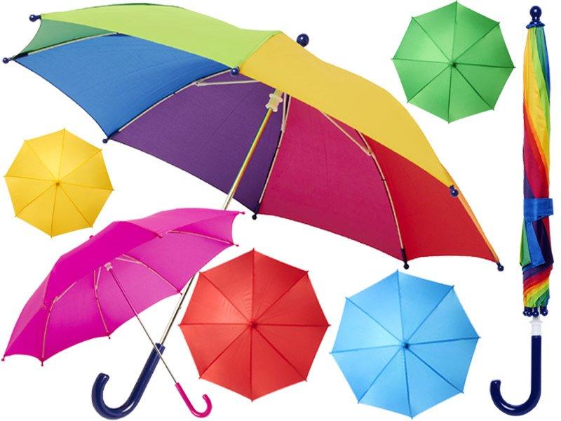 Nina 17 inch stormparaplu voor kinderen