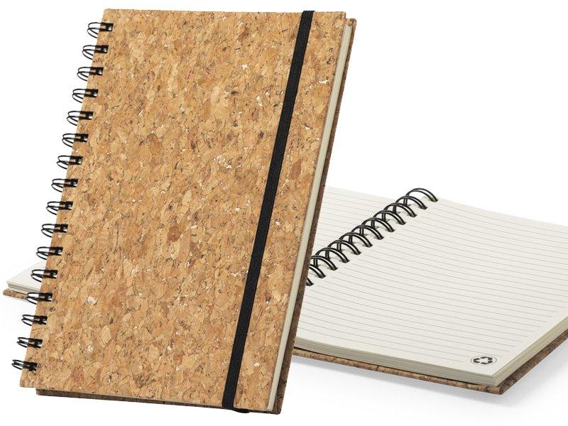 Notitieboek van natuurlijk kurk xiankal