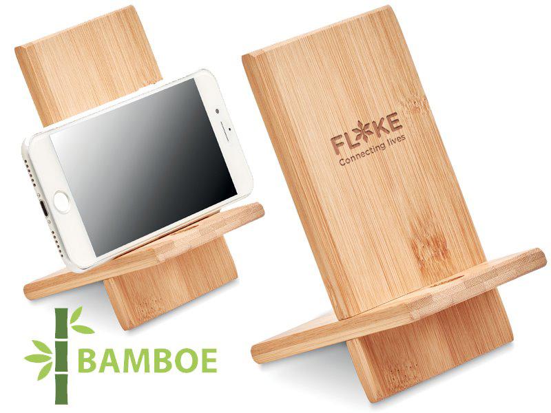 Bamboe telefoonhouder whippy