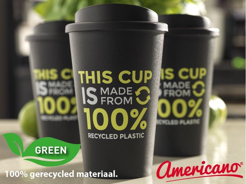 Americano recycled 350 ml geïsoleerde beker
