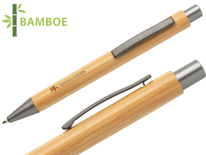 Slim design bamboe pen