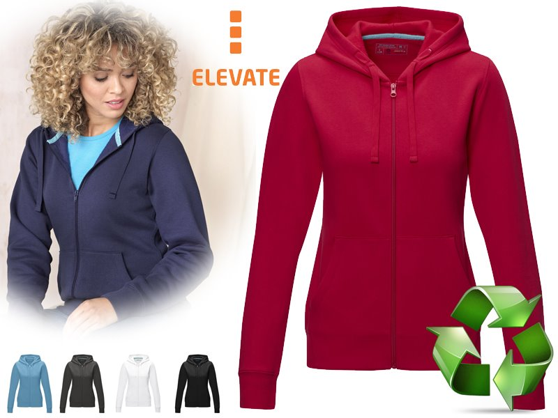 Ruby dames gots biologische grs-gerecycled hoodie